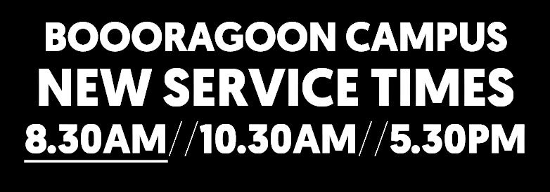 2020 Service Times